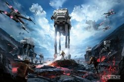 Star Wars Battlefront (War Zone) - plakat