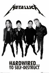 Metallica Hardwired To Self Destruct - plakat