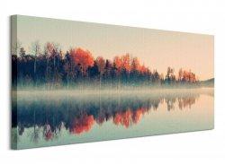 Forest Reflections - Obraz na płótnie