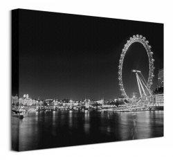 London Eye - Obraz na płótnie