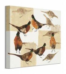 Pheasants - Obraz na płótnie