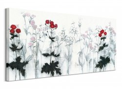 Red Flowers - Obraz na płótnie