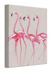 Summer Thornton (Elegant Flamingos) - Obraz na płótnie
