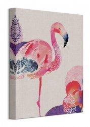Summer Thornton (Tropical Flamingo) - Obraz na płótnie