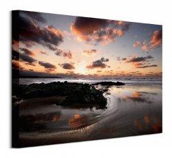 Sunset, Cantabria - Obraz na płótnie