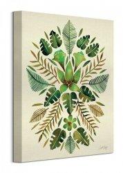 Obraz na płótnie - Tropikalna symetria