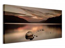 Obraz na płótnie - Ullswater Rocks
