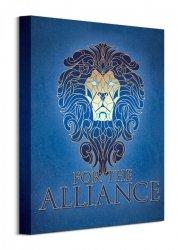 Obraz na ścianę - Warcraft (The Alliance - Cracked)