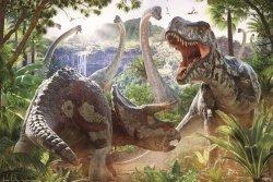 Dinosaur Battle (David Penfound) - plakat