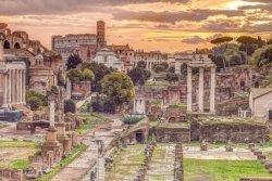 Rzym Stare Miasto - plakat