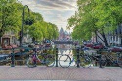 Amsterdam Rowery - plakat