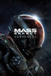 Mass Effect Andromeda - plakat z gry