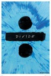 Ed Sheeran Okładka Albumu Divide - plakat muzyczny