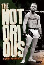 UFC Conor McGregor The Not Orious - plakat sportowy