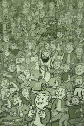 Fallout - plakat z gry