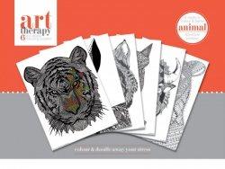 Art Therapy Zwierzęta - plakaty do kolorowania