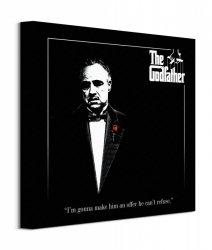 The Godfather (Red Rose) - Obraz na płótnie