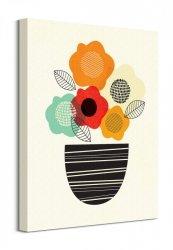 Scandi Flowers Ii - Obraz na płótnie
