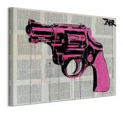 Pop Gun - Obraz na płótnie