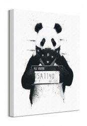 Bad Panda - Obraz na płótnie