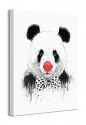 Clown Panda - Obraz na płótnie