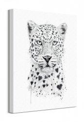 Lovely Leopard - Obraz na płótnie