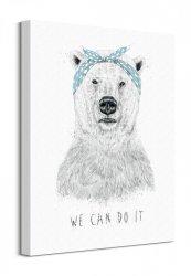 We Can Do It - Obraz na płótnie