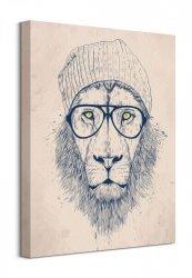 Cool Lion - Obraz na płótnie