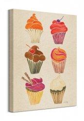 Cupcakes - Obraz na płótnie