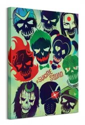 Suicide Squad (Skulls) - Obraz na płótnie