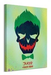 Suicide Squad (Joker Skull) - Obraz na płótnie