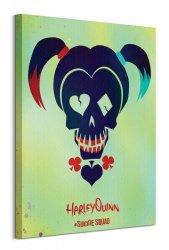 Suicide Squad (Harley Quinn Skull) - Obraz na płótnie