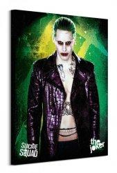 Suicide Squad (The Joker) - Obraz na płótnie