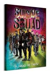Suicide Squad (Neon) - Obraz na płótnie