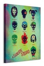 Suicide Squad (Roll Call) - Obraz na płótnie