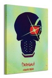 Suicide Squad (Deadshot Skull) - Obraz na płótnie