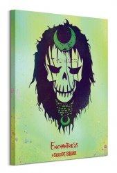 Suicide Squad (Enchantress Skull) - Obraz na płótnie