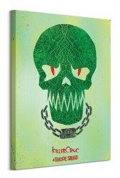 Suicide Squad (Killer Croc Skull) - Obraz na płótnie