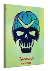Suicide Squad (Boomerang Skull) - Obraz na płótnie