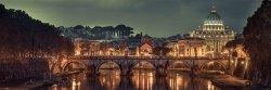 Rzym Panorama - plakat