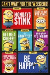 Gru, Dru i Minionki Can't Wait for the Weekend - plakat z bajki