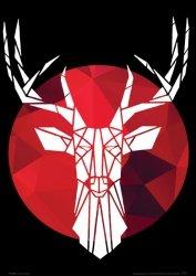 Deer - plakat  A4
