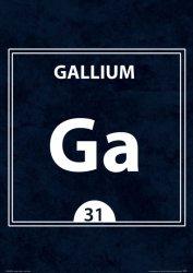 Gallium GA 31 - plakat A3