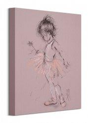 Little Ballerina II - obraz na płótnie