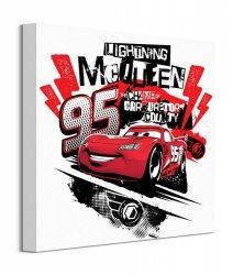 Cars The Champ Lightning Mcqueen - obraz na płótnie