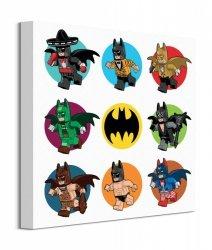 Lego Batman Spot Outfits - obraz na płótnie