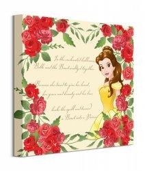 Beauty And The Beast Roses - obraz na płótnie