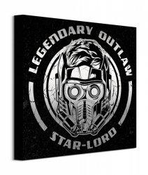 Guardians Of The Galaxy Vol. 2 Legendary Outlaw - obraz na płótnie