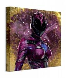 Power Rangers Movie Pink Ranger Pose - obraz na płótnie