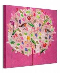 Happy Tree - obraz na płótnie